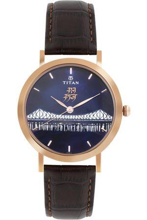 Titan Men Blue Analogue Watch 1740WL03