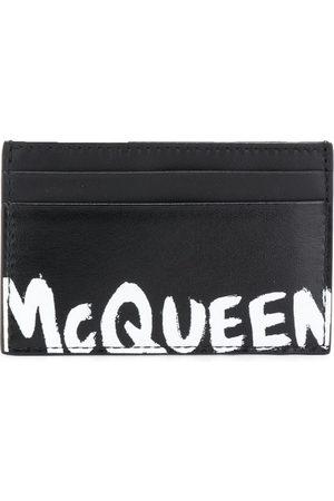 Alexander McQueen Men Wallets - Logo stamp cardholder