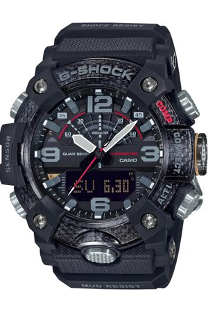 Casio Men Black Analogue and Digital Watch G972