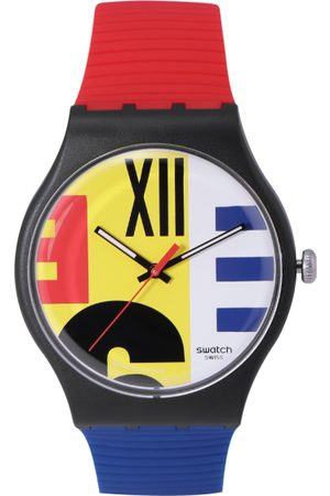 Swatch Vintage Unisex Yellow Analogue watch SUOB171