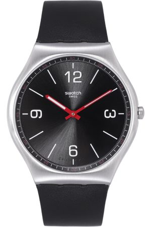 Swatch Unisex Black Swiss Made Analogue Watch SS07S100