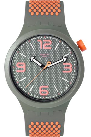 Swatch Unisex Grey Swiss Made Analogue Watch SO27M101
