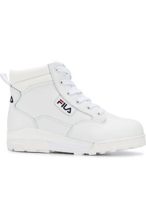 Fila Hi-top lace up sneakers