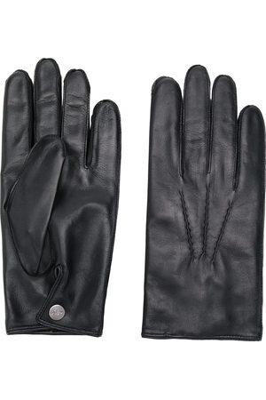 N.PEAL Men Gloves - 007 leather & cashmere lined gloves