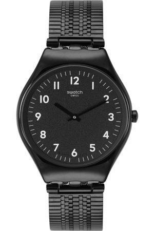 Swatch Unisex Black Swiss Made Analogue Watch SYXB100GG