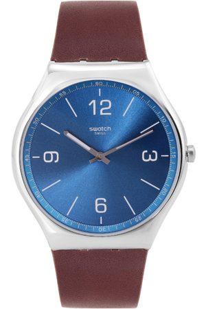 Swatch Unisex Blue Analogue Watch SS07S101