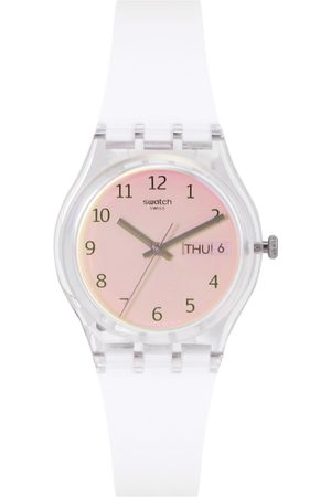 Swatch Transformation Unisex Peach Analogue watch GE720