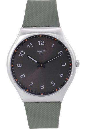 Swatch Unisex Black Swiss Made Analogue Watch SS07S103
