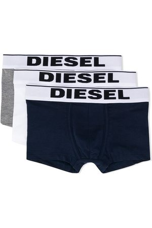 Diesel Set of three logo waist boxers