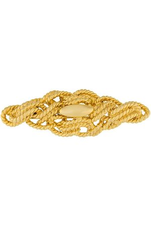 Givenchy Pre-Owned Women Pins - 1980s tangled rope brooch