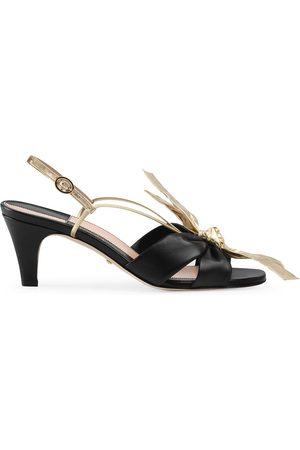 Gucci Bow front sandals