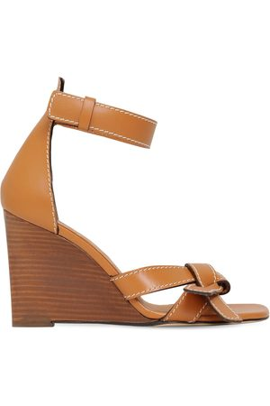Loewe 100mm Leather Sandals