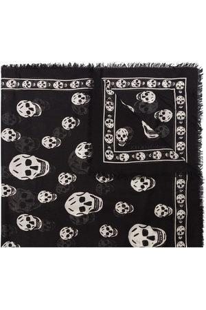 Alexander McQueen Men Scarves - Skull print scarf