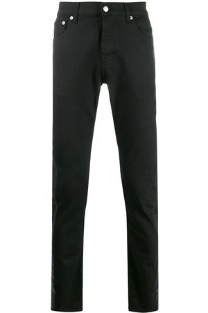 Alexander McQueen Side tape straight jeans