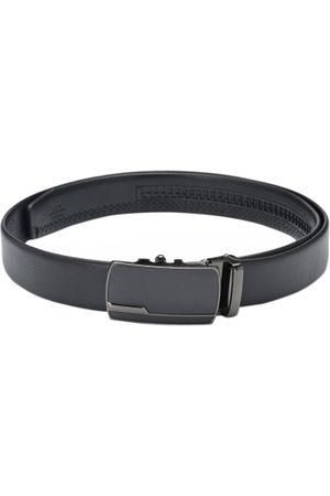 Calvadoss Men Black Solid Belt