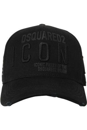 Dsquared2 Men Hats - Icon Cotton Gabardine Baseball Hat