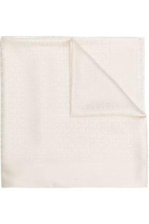 Salvatore Ferragamo Women Scarves - Jacquard Gancini shawl