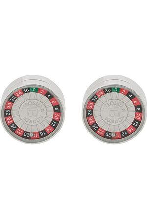 Tateossian Roulette round cufflinks