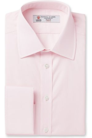 Turnbull & Asser Double-cuff Cotton Shirt