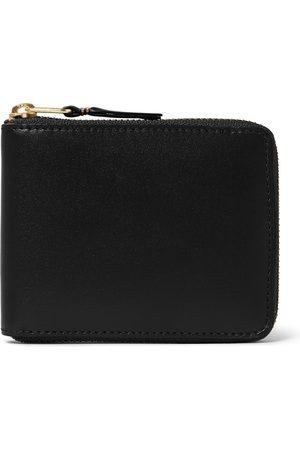 Comme des Garçons Zip-around Leather Wallet