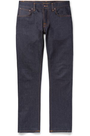 Nudie Grim Tim Slim-fit Organic Stretch-denim Jeans