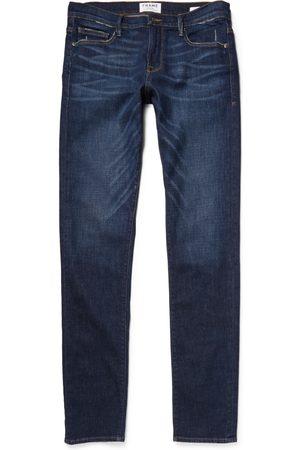 Frame L'homme Slim-fit Dry Denim Jeans