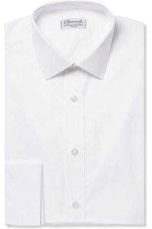 Charvet Royal Slim-fit Cotton Oxford Shirt
