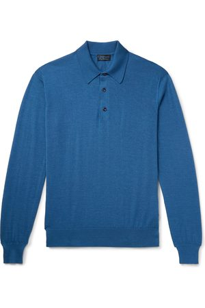 Charvet Cashmere And Silk-blend Polo Shirt
