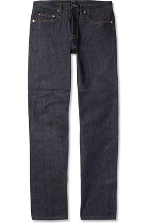 A.P.C Men Straight - New Standard Dry Selvedge Denim Jeans