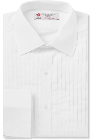 Turnbull & Asser Sea Island Cotton Tuxedo Shirt
