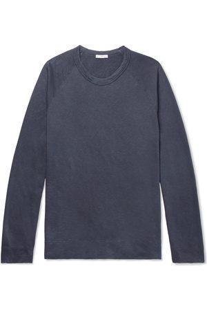 James Perse Men Sweatshirts - Loopback Supima Cotton-Jersey Sweatshirt