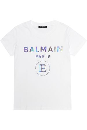 Balmain Girls T-shirts - Cotton T-shirt