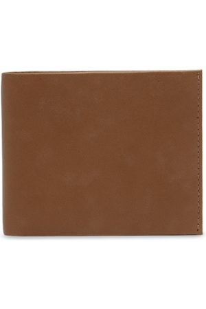 amicraft Men Brown Solid Two Fold Genuine Leather Wallet