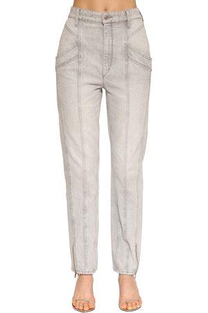 Isabel Marant Kelissa Straight Leg Cotton Denim Jeans