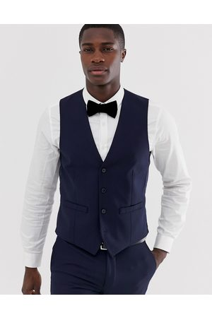 French Connection Slim fit plain waistcoat
