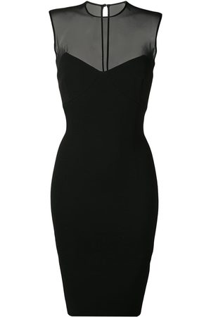 Victoria Beckham Sleeveless fitted pencil dress