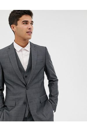 French Connection Prince of wales check slim fit suit jacket