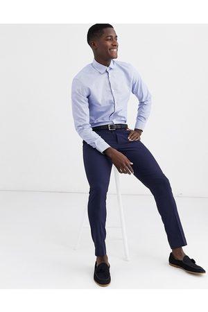 Selected Slim fit gingham shirt in