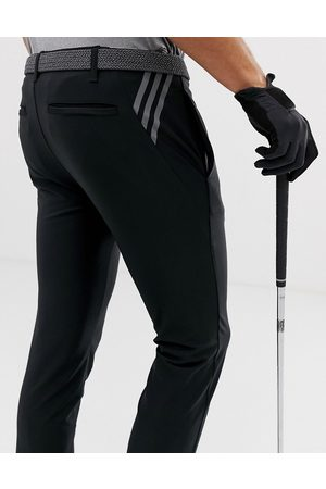 adidas Ultimate 365 3-stripe tapered trousers in