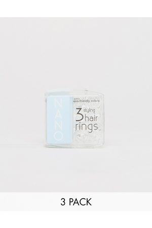 invisibobble Nano Styling Hair Tie- Crystal Clear