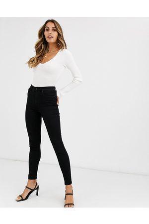 Vero Moda Skinny high rise jeans in