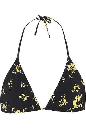 Ganni Women Bikinis - Floral bikini top