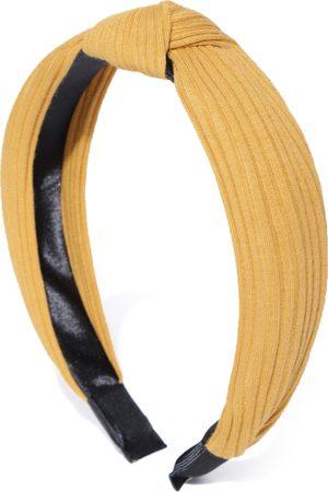 PRITA Yellow Solid Hairband