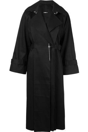 Boyarovskaya Women Trench Coats - Pin-embellished coat