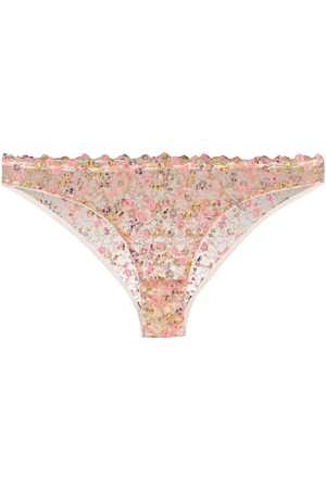 Gilda & Pearl Floral lace knickers