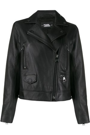 Karl Lagerfeld Ikonik leather biker jacket
