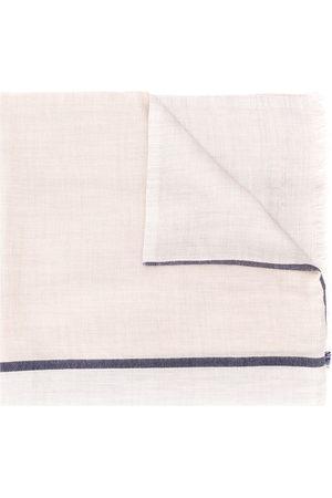 Brunello Cucinelli Men Scarves - Contrasting stripe scarf