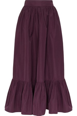 VALENTINO Gathered maxi skirt
