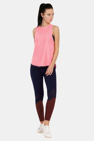 Amante Easy Movement Moisture Wicking Seamless Tank Top Pink