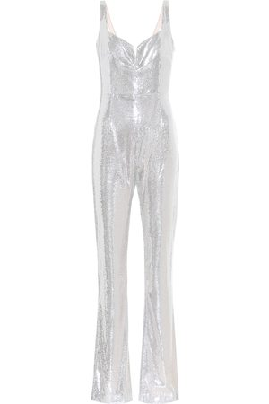 GALVAN Galaxy Corset sequined jumpsuit